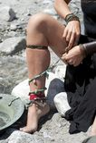 πόδι προκλητικό Στοκ εικόνα με δικαίωμα ελεύθερης χρήσης