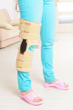 Πόδι στα κλουβιά γονάτων Στοκ εικόνα με δικαίωμα ελεύθερης χρήσης