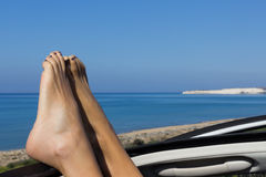 Πόδι στον ουρανό στοκ φωτογραφία με δικαίωμα ελεύθερης χρήσης