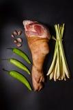 Πόδι χοιρινού κρέατος Στοκ εικόνα με δικαίωμα ελεύθερης χρήσης
