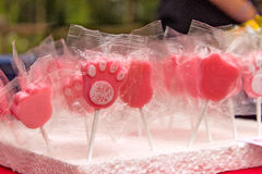 Πόδι lollipops Στοκ Εικόνα