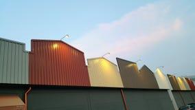 Πόλος επικέντρων στη στέγη Στοκ εικόνες με δικαίωμα ελεύθερης χρήσης
