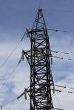 Πόλος ηλεκτρικής δύναμης Στοκ φωτογραφία με δικαίωμα ελεύθερης χρήσης