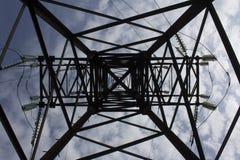 Πόλος ηλεκτρικής δύναμης Στοκ Φωτογραφίες