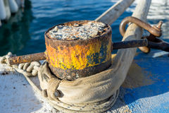 Πόλος σιδήρου Στοκ Φωτογραφίες