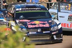 Πόλο Ρ WRC Ogier Volkswagen Sebastien - συνάθροιση 2016 του Μόντε Κάρλο Στοκ Εικόνες