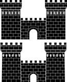 πύλες δύο Στοκ φωτογραφία με δικαίωμα ελεύθερης χρήσης