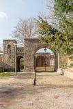 Πύλες εισόδων στον κήπο μοναστηριών του μοναστηριού Lioba στοκ εικόνες