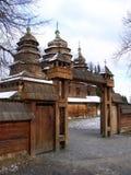 πύλες εκκλησιών Στοκ Εικόνα