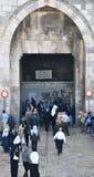 πύλες Ιερουσαλήμ της Δ&alpha Στοκ φωτογραφία με δικαίωμα ελεύθερης χρήσης