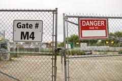 πύλες κατασκευής Στοκ Φωτογραφίες