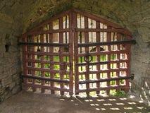 πύλες ξύλινες στοκ φωτογραφία