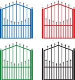 πύλες Στοκ Εικόνες