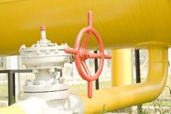 πύλη αερίου Στοκ φωτογραφίες με δικαίωμα ελεύθερης χρήσης