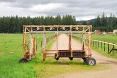 Πύλη αλόγων Στοκ Φωτογραφία