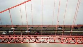 πύλη γεφυρών χρυσή Στοκ Εικόνα
