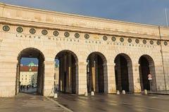 Πύλη εισόδων στο παλάτι Hofburg, Βιέννη, Αυστρία στοκ εικόνες με δικαίωμα ελεύθερης χρήσης
