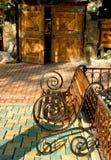 πύλη καφέδων πάγκων Στοκ Εικόνες