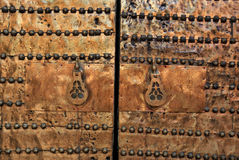 πύλη Μαρόκο ορείχαλκου Στοκ εικόνες με δικαίωμα ελεύθερης χρήσης
