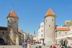 πύλη μεσαιωνική Στοκ φωτογραφίες με δικαίωμα ελεύθερης χρήσης