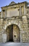 πύλη μεσαιωνική Στοκ εικόνες με δικαίωμα ελεύθερης χρήσης