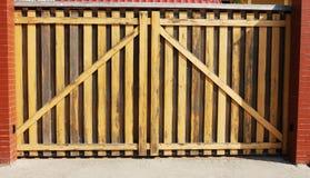 πύλη ξύλινη Στοκ φωτογραφία με δικαίωμα ελεύθερης χρήσης