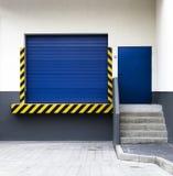 πύλη παράδοσης βιομηχανι&kapp Στοκ φωτογραφία με δικαίωμα ελεύθερης χρήσης