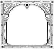 πύλη πλαισίων μορφής διανυσματική απεικόνιση