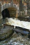 πύλη πλημμυρών Στοκ Φωτογραφίες