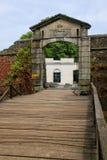 Πύλη πόλεων Porton de Campo σε Colonia del Σακραμέντο, Ουρουγουάη Στοκ εικόνα με δικαίωμα ελεύθερης χρήσης