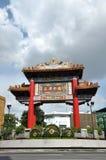 Πύλη πόλης κέντρου της Κίνας Στοκ φωτογραφίες με δικαίωμα ελεύθερης χρήσης