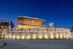 Πύλη Σεούλ Dongdaemun Στοκ Εικόνες