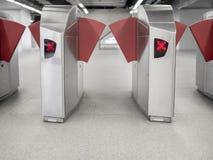 Πύλη σιδηροδρομικών σταθμών στοκ εικόνες