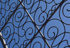 Πύλη σιδήρου Στοκ Εικόνα