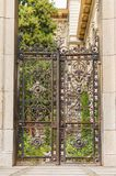 πύλη σκουριασμένη στοκ εικόνες