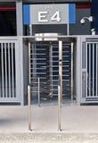 Πύλη σταδίων για την έξοδο στοκ φωτογραφία με δικαίωμα ελεύθερης χρήσης