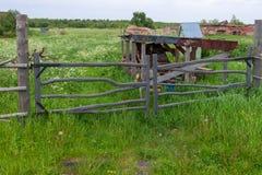 Πύλη στον τομέα στοκ εικόνα με δικαίωμα ελεύθερης χρήσης