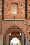 Πύλη στο Sforza Castel στο Μιλάνο, Ιταλία Στοκ Φωτογραφίες