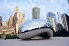 πύλη σύννεφων του Σικάγου Στοκ εικόνες με δικαίωμα ελεύθερης χρήσης