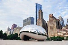 πύλη σύννεφων του Σικάγου Στοκ φωτογραφίες με δικαίωμα ελεύθερης χρήσης