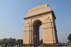 Πύλη της Ινδίας, Νέο Δελχί, βόρεια Ινδία Στοκ εικόνα με δικαίωμα ελεύθερης χρήσης