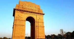 Πύλη της Ινδίας, Νέο Δελχί Ινδία Στοκ Εικόνα
