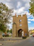 Πύλη της Κολωνίας σε Zuelpich, North Rhine-Westphalia, Γερμανία στοκ εικόνα