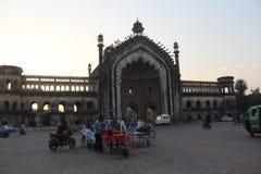Πύλη της Rumi Lucknow: η πόλη των nawabs στοκ φωτογραφία