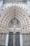 πύλη Τολέδο καθεδρικών ναών Στοκ Εικόνες
