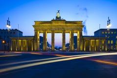 πύλη του Βερολίνου Βραδ& στοκ εικόνες με δικαίωμα ελεύθερης χρήσης