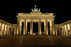 πύλη του Βερολίνου brandenburger Στοκ φωτογραφίες με δικαίωμα ελεύθερης χρήσης