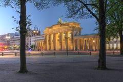 Πύλη του Βραδεμβούργου, Βερολίνο, Γερμανία Στοκ Φωτογραφία