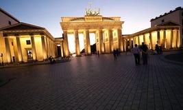 πύλη του Βραδεμβούργου στοκ εικόνες με δικαίωμα ελεύθερης χρήσης