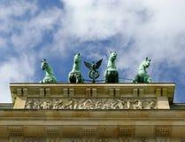 πύλη του Βραδεμβούργου Στοκ Φωτογραφία